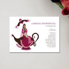 bridal tea party invitation unique indian baby shower invitations bridal tea party by soulful