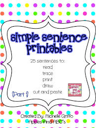 reading and writing simple sentences apples and abc u0027s