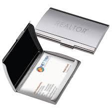 Business Card Case Leather Realtor Denver Business Card Case Rts4677