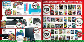 black friday wii 2017 coffee with games wal mart u0027s black friday ad revealed video