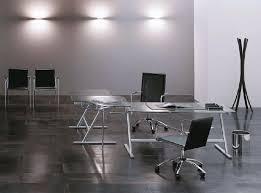 tavoli design cristallo tavolo design per ufficio base in metallo piano in cristallo