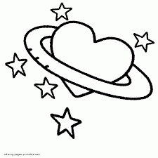 heart shaped coloring pages aecost net aecost net