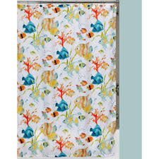 Shower Curtains With Fish Theme Clear Shower Curtains Shower Accessories The Home Depot