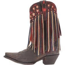 womens boots handmade dan post liberty fringe boots handmade flag patriotic