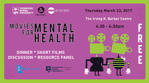 K He Pink Thompson Rivers University Presents Movies For Mental Health