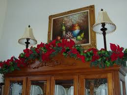decorating a china cabinet for christmas the enchanted manor olympus digital camera