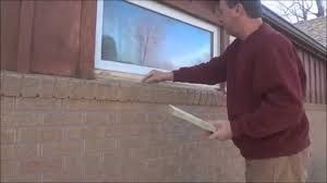 How To Tile A Kitchen Window Sill Window Sill Replacement Installation Youtube