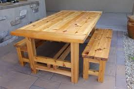 Build Wooden Patio Table by How To Make Wood Patio Table Modern Table Design