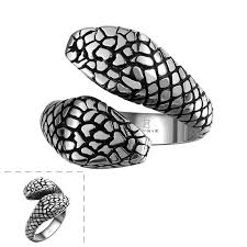 aliexpress buy new arrival cool charm vintage tiger totem free shipping titanium steel rings vintage animal