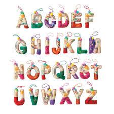 avon living cheer alphabet ornament avon