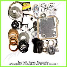 4l60e mega monster transmission complete rebuild kit 1998 02