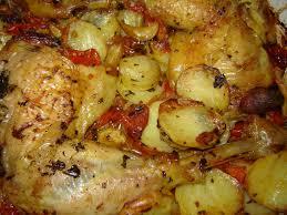 la cuisine au four cuisses de poulet croustillantes aux tomates oliver la