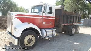 used w900 kenworth trucks for sale 1983 kenworth w900 dump truck item db3349 sold august 3