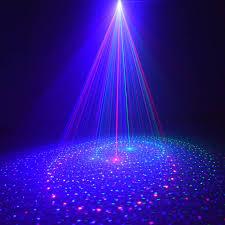 20 patterns rgb lights laser projector outdoor spotlight