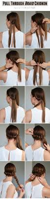 cute hairstyles pull through braid 347 best hair tutorials ideas images on pinterest hairstyle