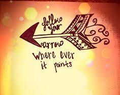 follow your arrow tattoo tattoospiercings pinterest arrow
