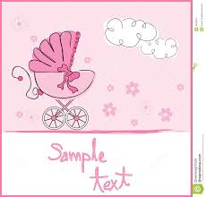 baby girl cards baby girl arrival royalty free stock photos image 8526018