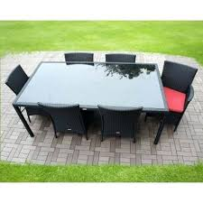 Patio Table And 6 Chairs Patio Table 6 Chairs Dining Set Medium 6 Seat Patio Table And