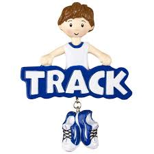 or1242 b track boy personalized ornament polarx