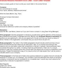 cover letter for graduate position ideas of example cover letter