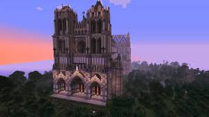 Amiens Cathedral Floor Plan Minecraft Cathedral Of Our Lady Of Amiens Youtube