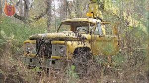 Old Ford Truck Graveyard - abandoned semi trucks old rusty trucks vehicles wrecks