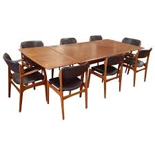 charming brown wooden dining chairs and rectangular brown wooden