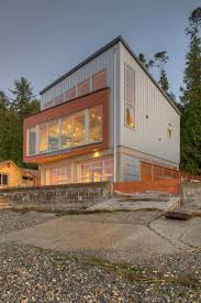 modern house construction for and contemporary image with