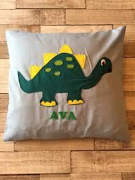 Unisex Gifts Personalised Dinosaur Cushion Cover Dinosaur Cushion Cover