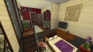 tips for building tiny houses in the sims 4 simsvip this house also has a 1 3 bathroom this bathroom design is something i ve seen used in a lot of tiny house builds and is the perfect size being both small
