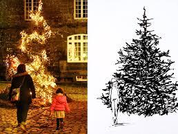 the art of the christmas tree urban sketchers