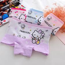 kitty cute children underwear cotton underwear girls