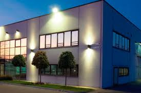 Bold And Modern Exterior Commercial Building Lighting Remarkable