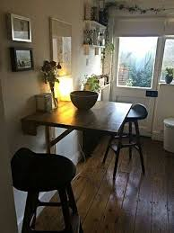 home design pretty dining table attached to wall folding designs