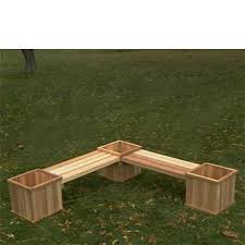 chic outdoor corner bench planter box and bench plans google