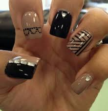impressive nail designs to look wow nails black and