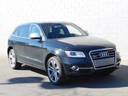 audi sq5 2015 certified pre owned 2015 audi sq5 for sale in arbor mi near