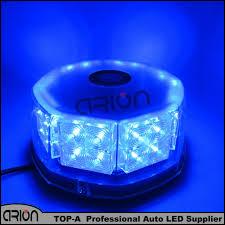 magnetic base strobe light blue color 32 led 32w car high power magnetic base flashing strobe