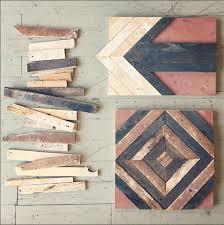 reclaimed wood wall perennial