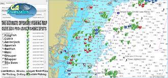 Jekyll Island Map Georgia Fishing Maps And Fishing Spots For Gps Saltwater U0026 Lake