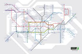 London Metro Map by Alternative Tube Map Of Famous Footballers Londonist
