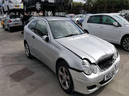 mercedes 3 door coupe 2006 mercedes c class c160 se 1796cc petrol automatic 5 speed