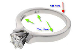 engraving on wedding rings engraving your engagement ring archives jewelry