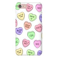 conversation hearts conversation hearts phone cases human