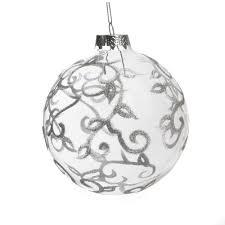 dia10cm glass balls tree ornament decoration event