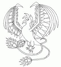11 pics of greek mythical creatures phoenix coloring pages