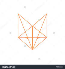 tattoo geometric outline 8 best vdr images on pinterest fox animal drawings and animal tattoos