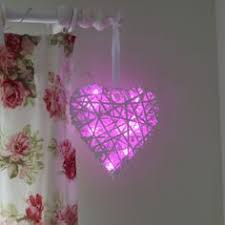 Cm Indoor Battery Flower Lights With Vase And Timer Pretty Lilac - Pink fairy lights for bedroom