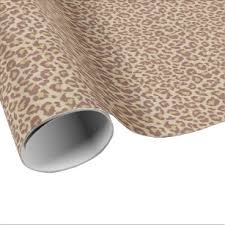 cheetah print wrapping paper cheetah print wrapping paper zazzle