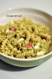 cuisiner du brocoli torsades à la crème de brocoli mozzarella et jambon cru coupe et cuit